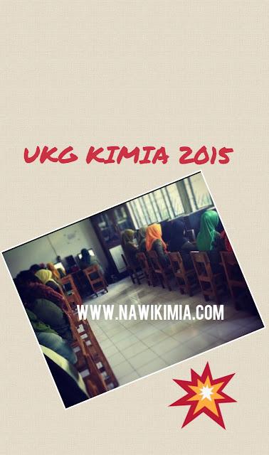 SOAL UKG KIMIA 2015