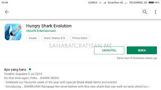 Cara Download Hungry Shark Evolution MOD Unlimited Money