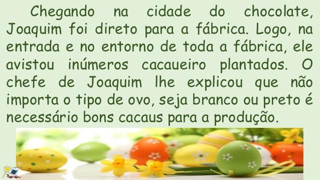 O Coelho Joaquim - História de Páscoa