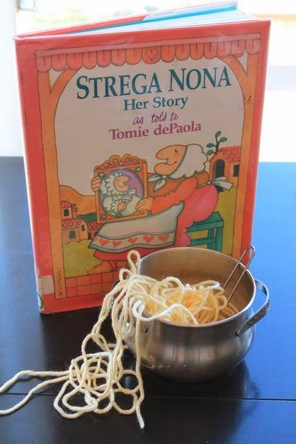 Ever Never Again Strega Nona Day