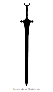 Dans Trois coracles cinglaient vers le couchant, Excalibur devient Calibourne