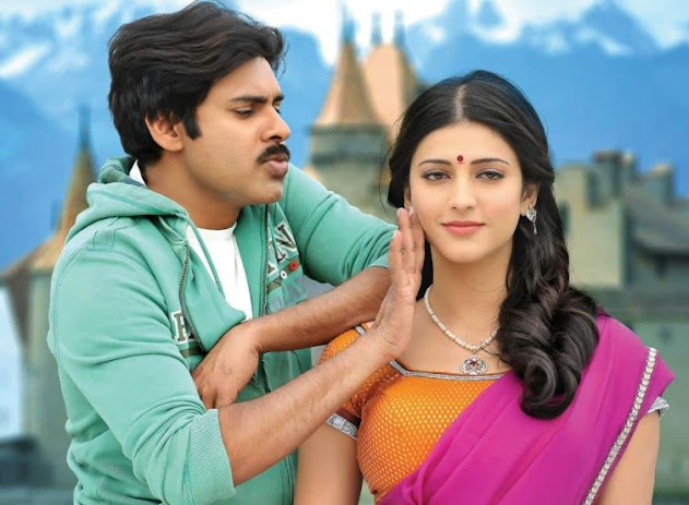 Gabbar Singh (2012) is an Indian Telugu action comedy film directed by Harish Shankar. The film is starred by Pawan Kalyan and Shruti Haasan in the lead roles as hero and heroine and some others in supporting characters. Gabbar Singh (2012) is an official remake of the Indian Hindi action comedy film Dabangg (2010) directed by Abhinav Singh Kashyap and starred by Salman Khan and Sonakshi Sinha in the lead roles. Gabbar Singh is dubbed in Hindi as Policewala Gunda. The film is released on 11th May, 2012 and becomes one of the highest grossing Telugu films of all time. Sardar Gabbar Singh (2016) is a sequel of the film Gabbar Singh (2012).