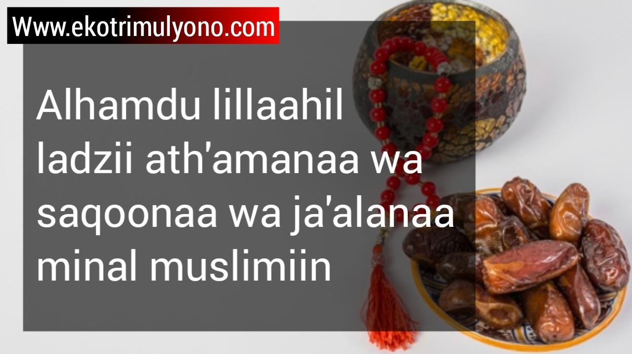 makna doa makan dan sesudah makan