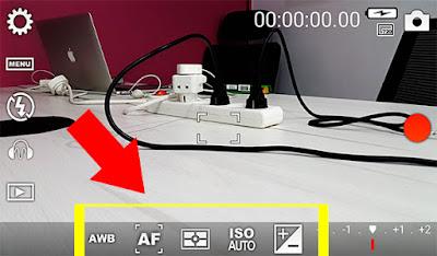 خيارات احترافية للتحكم بكاميرا الجوال
