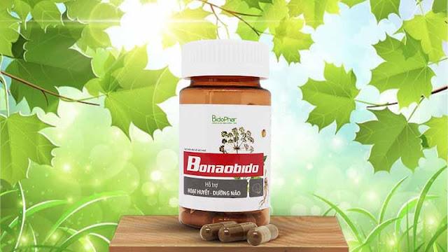 Bonaobido - giúp cải thiện chứng đau đầu vân mạch an toàn, hiệu quả