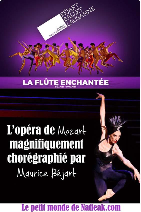 maurice Béjard La flûte enchantée