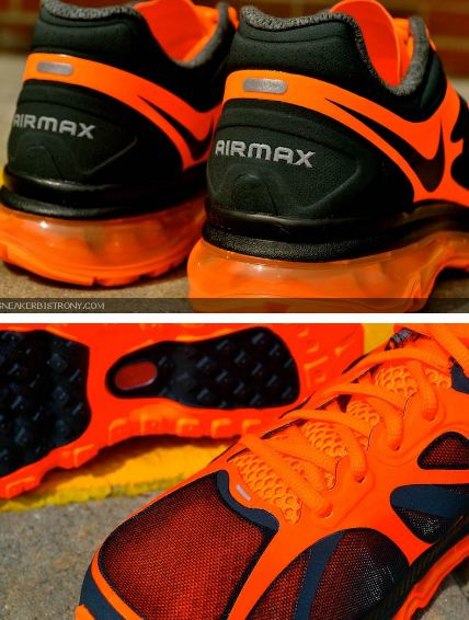 THE SNEAKER ADDICT: Nike Air Max 2012 Anthracite Black