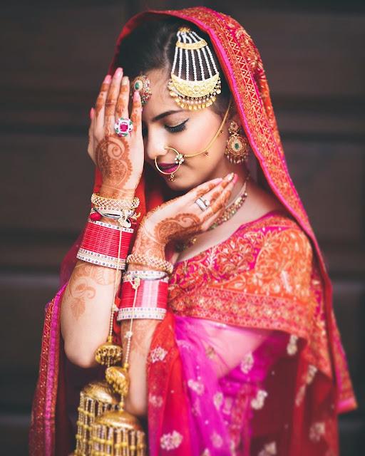 Indian Wedding designs  Indian Bridal makeup looks images
