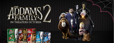 Kellogg's The Addams Family 2 Cereals and Snacks