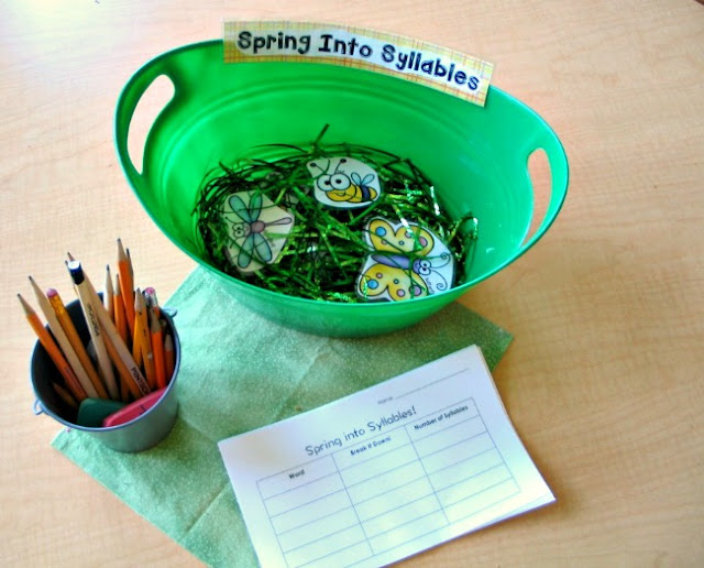 Spring Bug Syllables