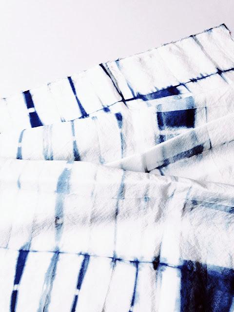 Itajime shibori on silk © Laura Luchtman