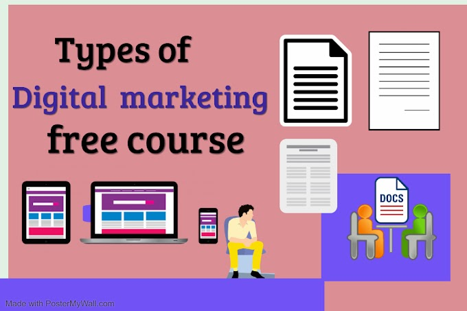 Types of digital marketing and were to start