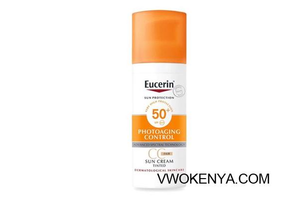 Kem chống nắng có màu Eucerin Photoaging Control Tinted CC Fair SPF 50+