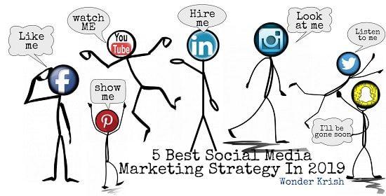 5 Best Social Media Marketing Strategy In 2021