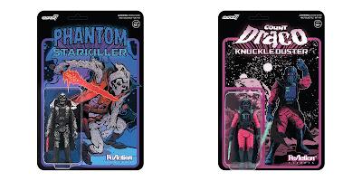 New York Comic Con 2020 Exclusive Phantom Starkiller & Count Draco Knuckleduster ReAction Figures by Killer Bootlegs x Super7