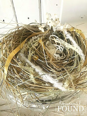 nests,garden,trash to treasure,DIY,diy decorating,tutorial,re-purposing,salvaged,junk makeover,crafting,winter,spring,garden art,wreaths,boho style,rustic style,farmhouse style,coastal style,inspired by nature,birdnests,diy bird nests,birdnest tutorial,found objects,yellow and gray home decor,Illuminating Yellow,Ultimate Gray, Pantone 2021,Pantone colors of the year