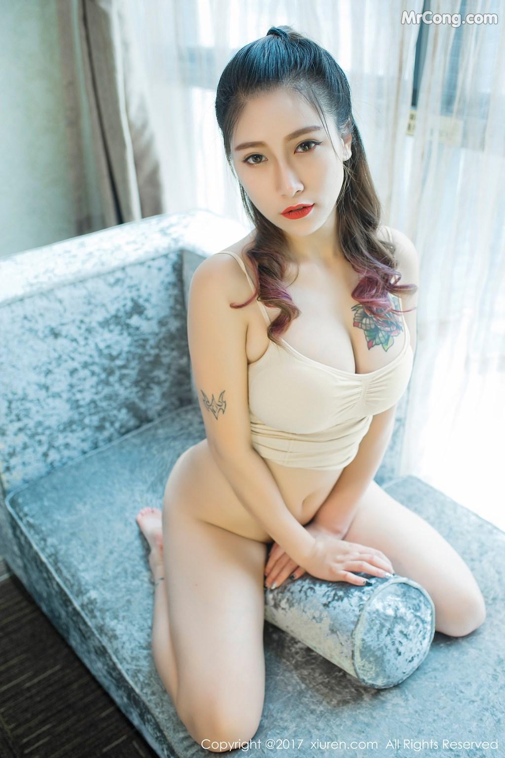 Image XIUREN-No.812-Du-Hua-Hua-MrCong.com-024 in post XIUREN No.812: Người mẫu Du Hua Hua (杜花花) (48 ảnh)