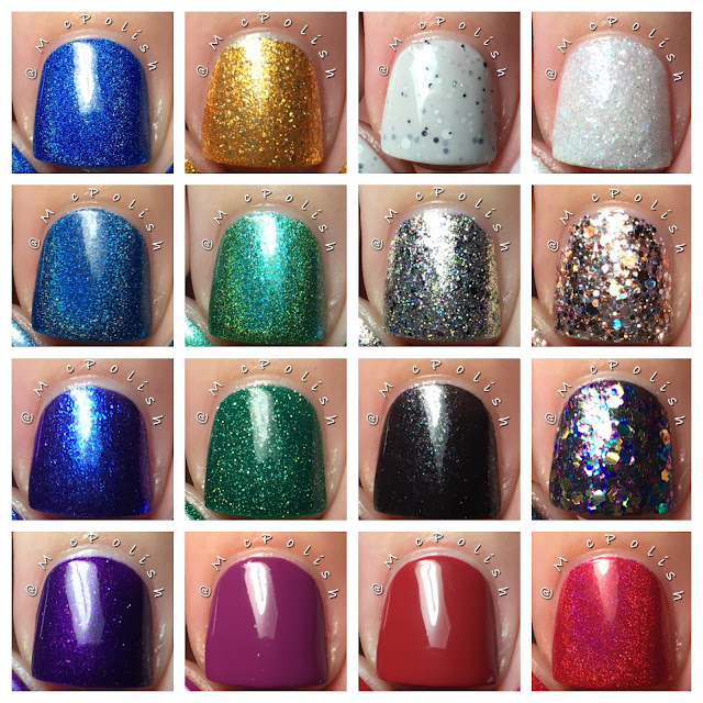 KBShimmer - Winter 2016 Collection - McPolish