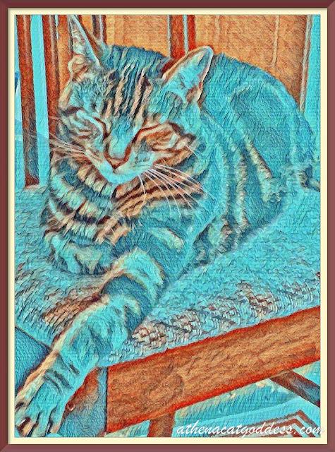 A Van Gogh Sunday Selfie