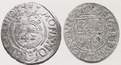 Półtorak 1626 Bydgoszcz - błędny nominał 42 zamiast 24