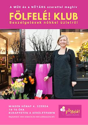 FÖLFELÉ! KLUB Beszélgetések nőkkel üzletről