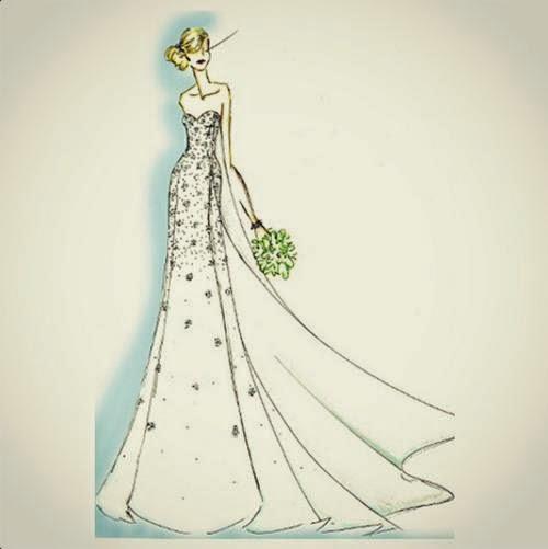 冻婚纱礼服