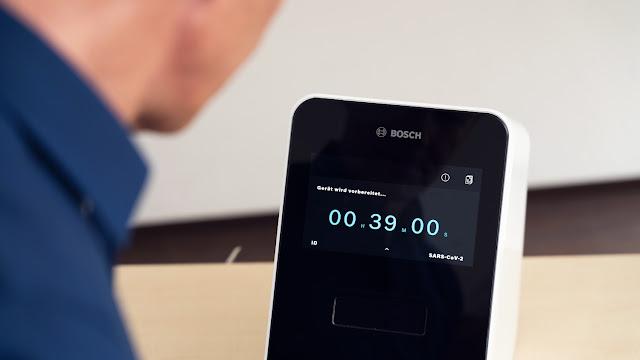 Novo teste rápido da Bosch ao coronavírus fornece resultados fiáveis em 39 minutos