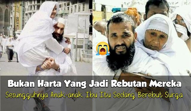 Di Indonesia, Anak Menuntut Warisan Orang Tua. Di Arab Saudi, Anak Rebutan Hak Asuh di Pengadilan