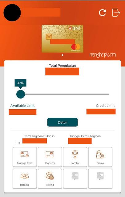 Cihuy! BNI Hadirkan Credit Card Mobile 1.0.3