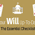 Essential Check list For Your Will, up-to-Date #infographic
