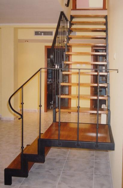 Cerrajeria ramajo escaleras de hierro forjado - Escaleras de hierro forjado ...