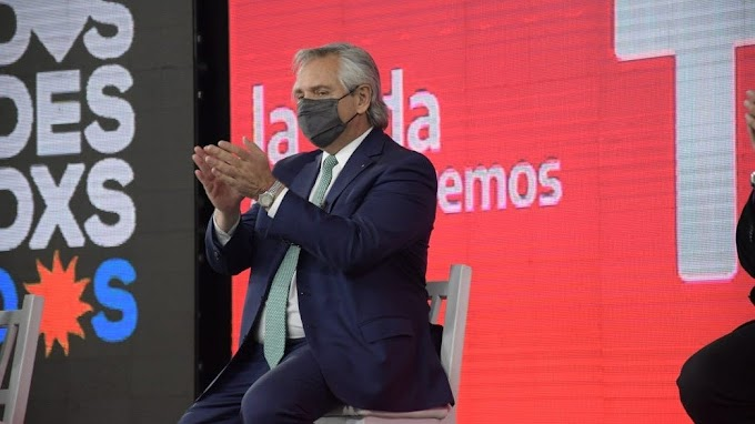 Crítica a Alberto FERNÁNDEZ tras su paso por San Juan