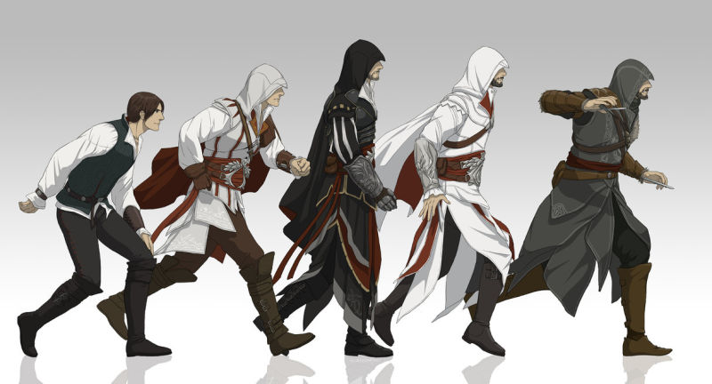 Assassin's Creed versi anime