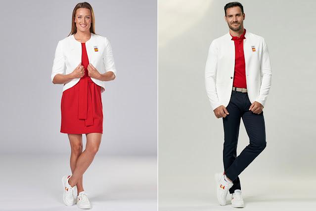 Joma y España uniformes Juegos Olimpicos Tokio