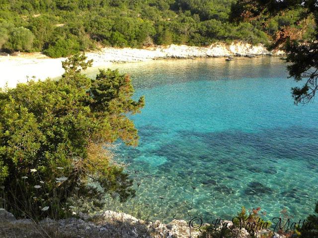 spiaggia di Emplusi a Cefalonia