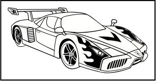 Karikaturku Indonesia Mewarnai Mobil Sport Ferrari Enzo