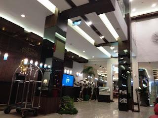 Lobi Hotel Roditha Banjarbaru, Banjarmasin
