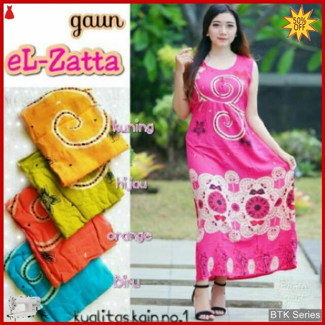 BTK121 Baju Dress El Zatta Modis Murah BMGShop