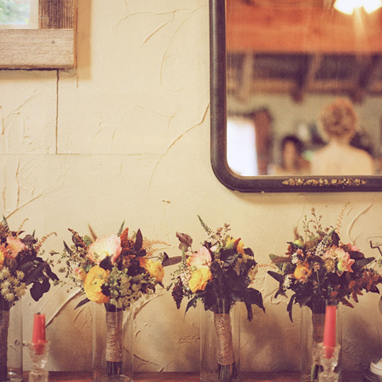 vintage Fall Wedding Bridesmaid Bouquets