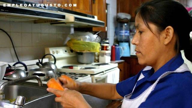 El Congreso aprobó una ley sobre los derechos laborales de las trabajadoras en casa