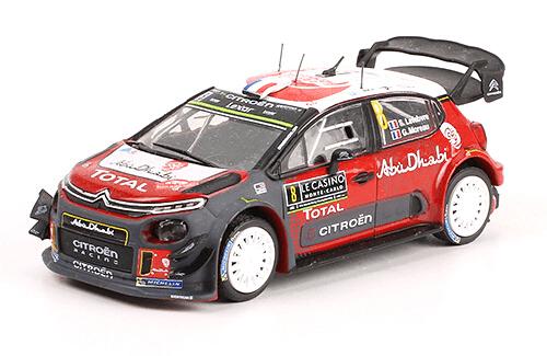 collezione rally monte carlo Citroën C3 WRC 2017 Stéphane Lefebvre - Gabin Moreau