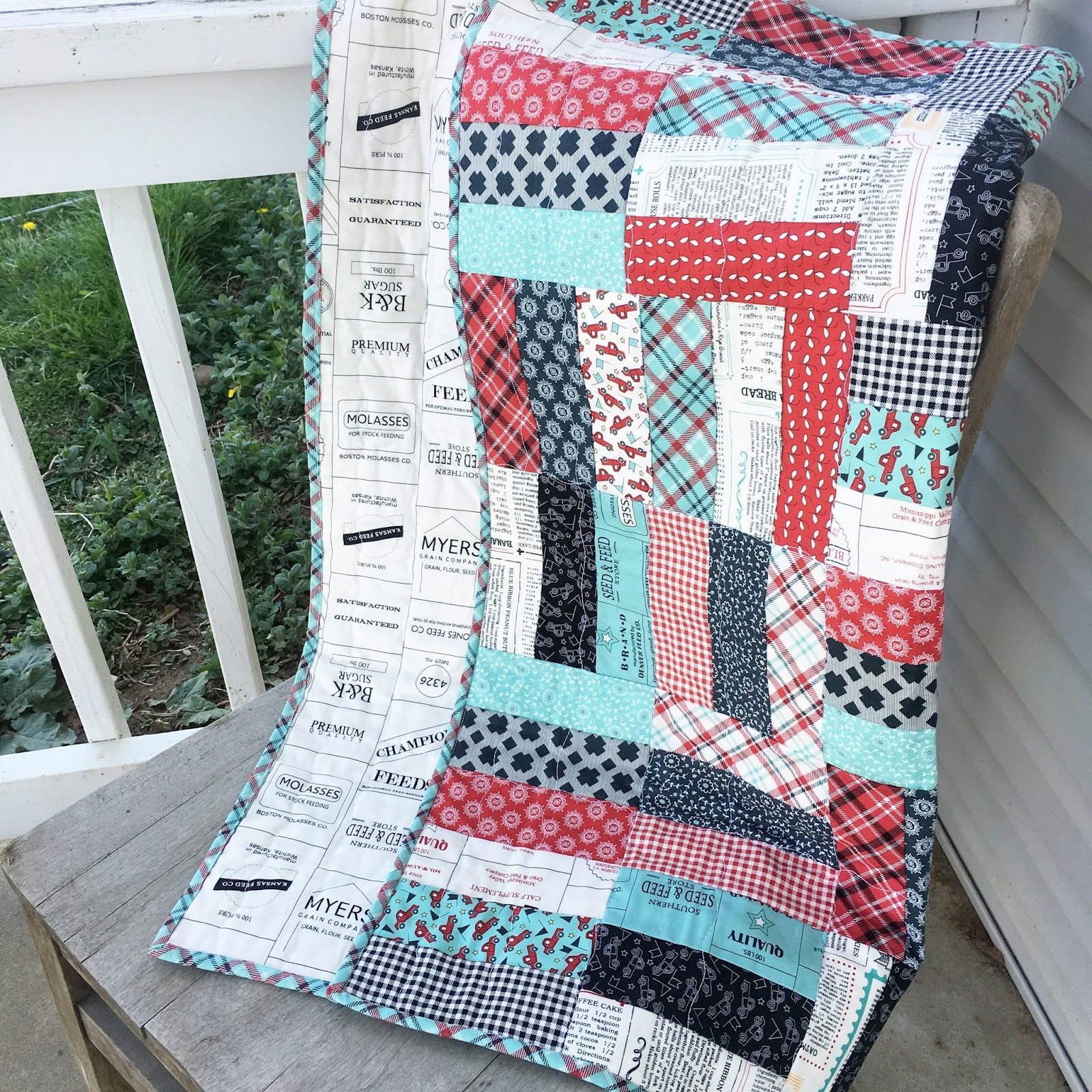 Jelly Roll Jam Quilt Hilltop Custom Designs