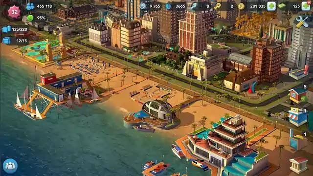 تحميل وتنزيل لعبة SimCity BuildIt لنظام الأندرويد