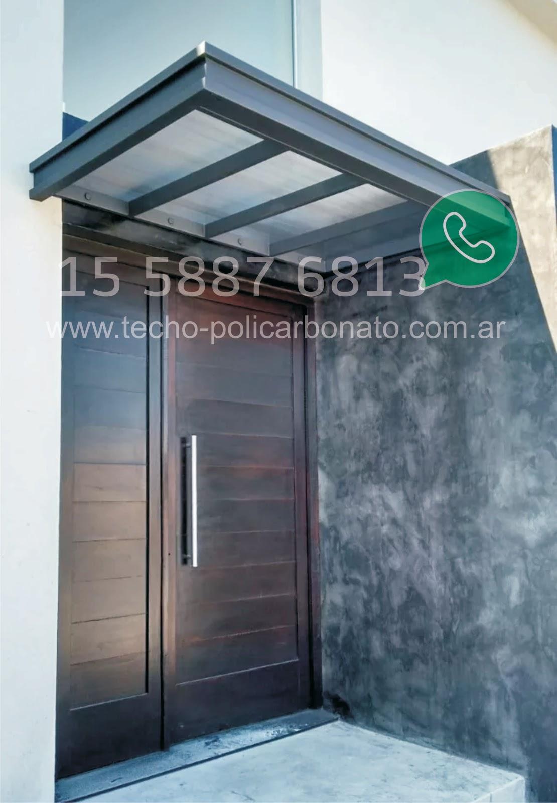 Alero para puertas o ventanas for Ventanas para techos planos argentina