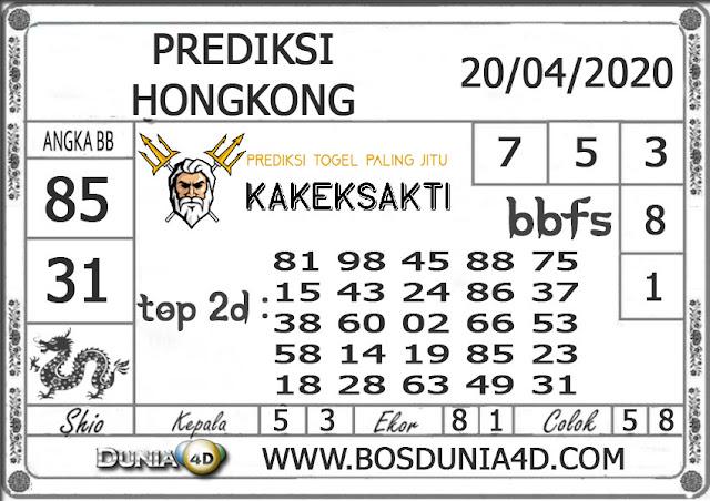 Prediksi Togel HONGKONG DUNIA4D 20 APRIL 2020