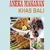 Buku Aneka Makanan Khas Bali