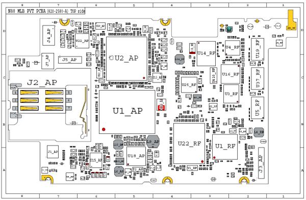 schematic circuit diagram iphone