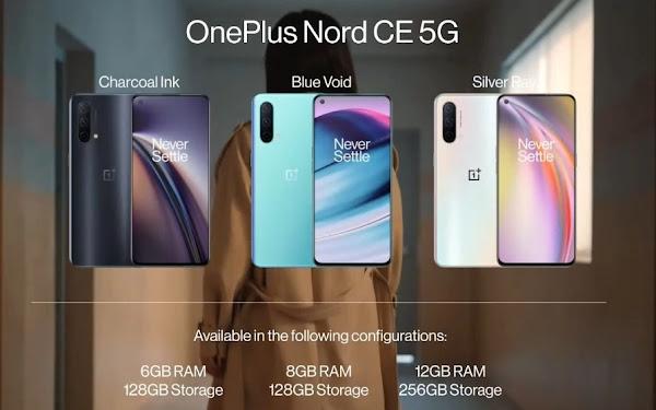 OnePlus Nord CE 5G é oficial