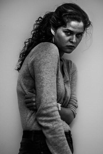 Autorretrato tirado pela fotógrafa Laura Hospes