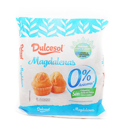 Dulcesol Magdalenas 0% azucares